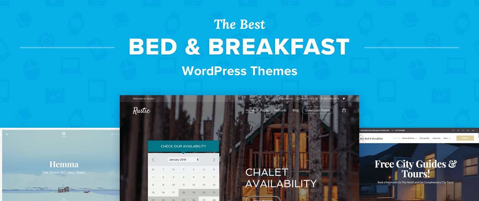 Bed And Breakfast Wordpress Themes