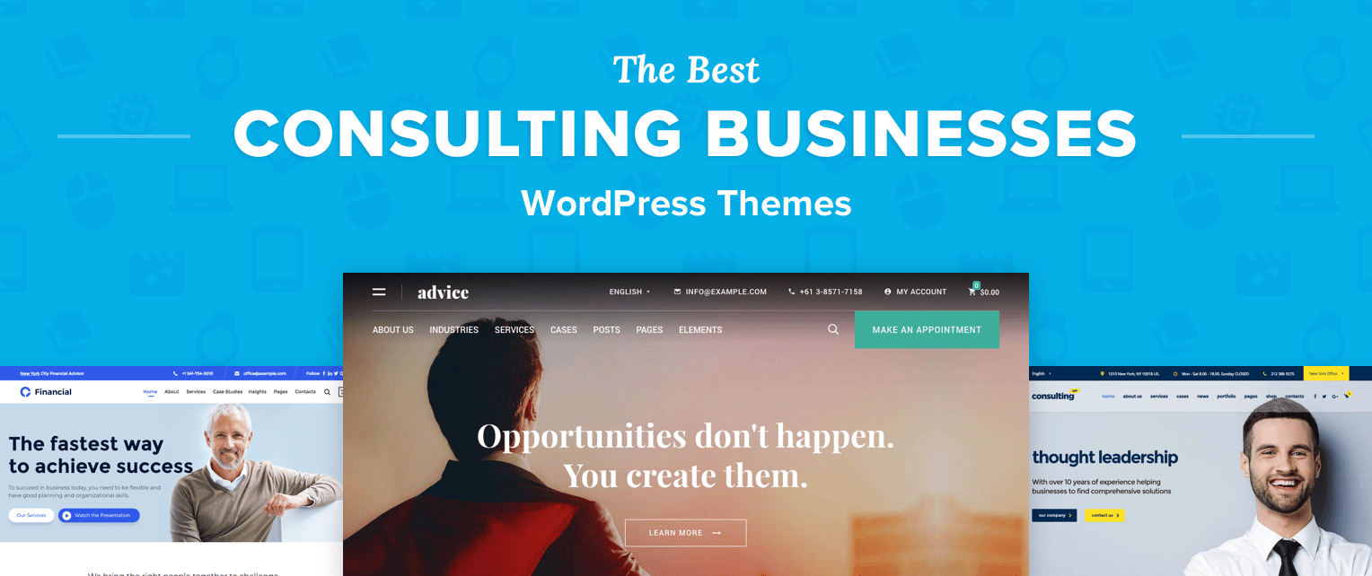 Consulting Business WordPress Themes