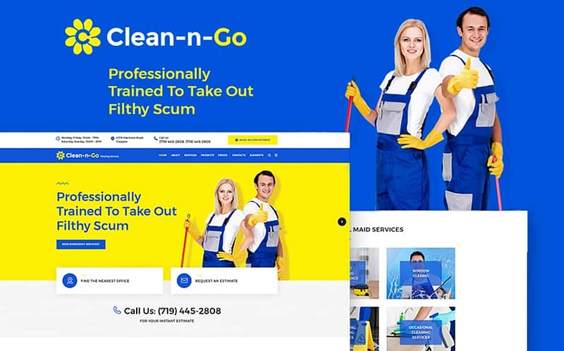 Clean-n-Go WP theme
