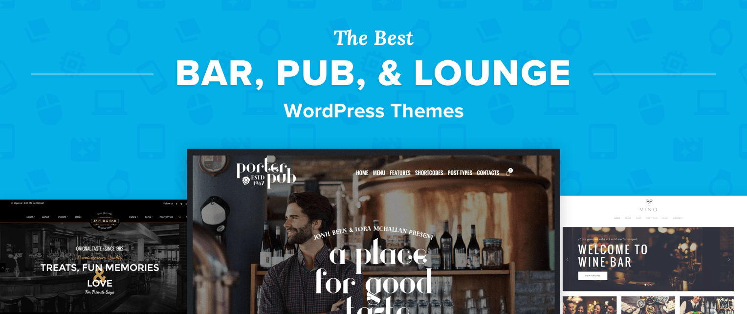 Bar WordPress Themes