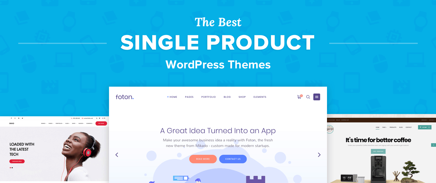 Best Single Product WordPress Themes