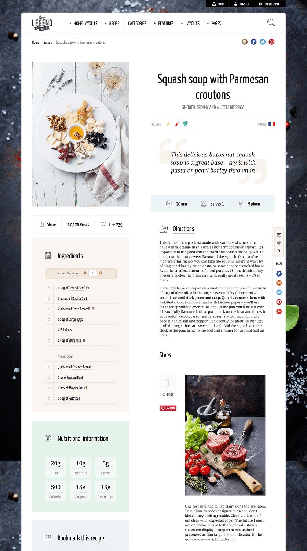 Neptune Recipe Page