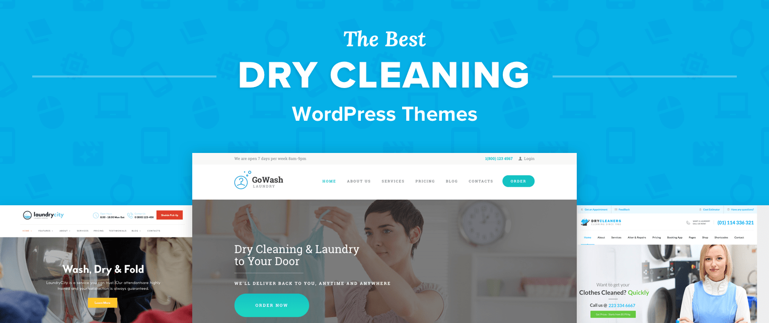 Dry Cleaning Wordpress Themes