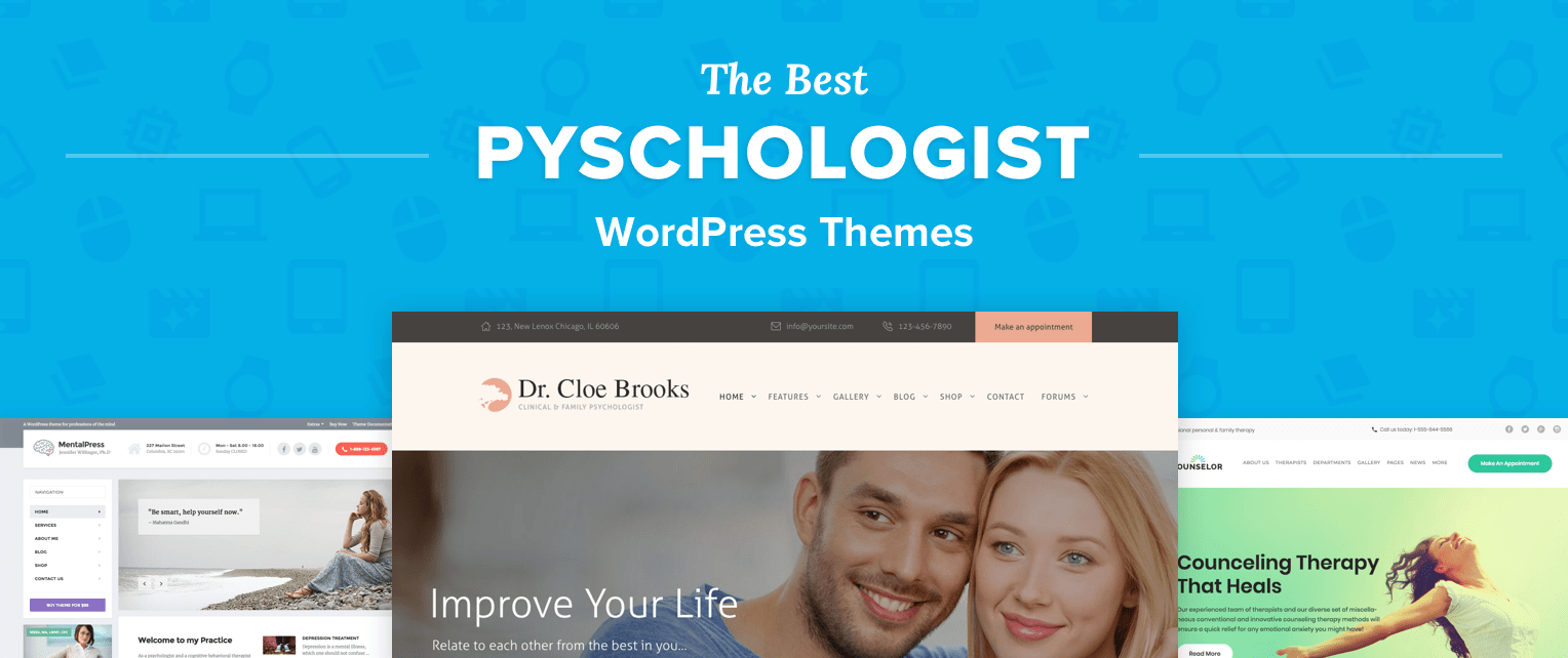 Psychologist WordPress Themes