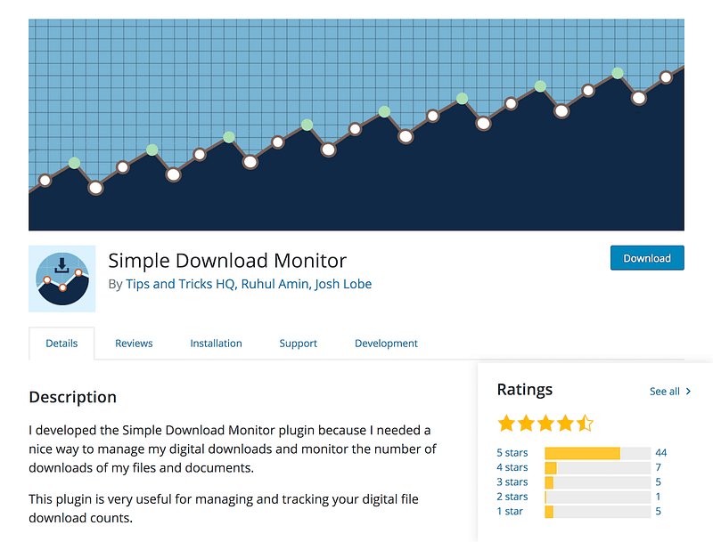Simple Download Manager