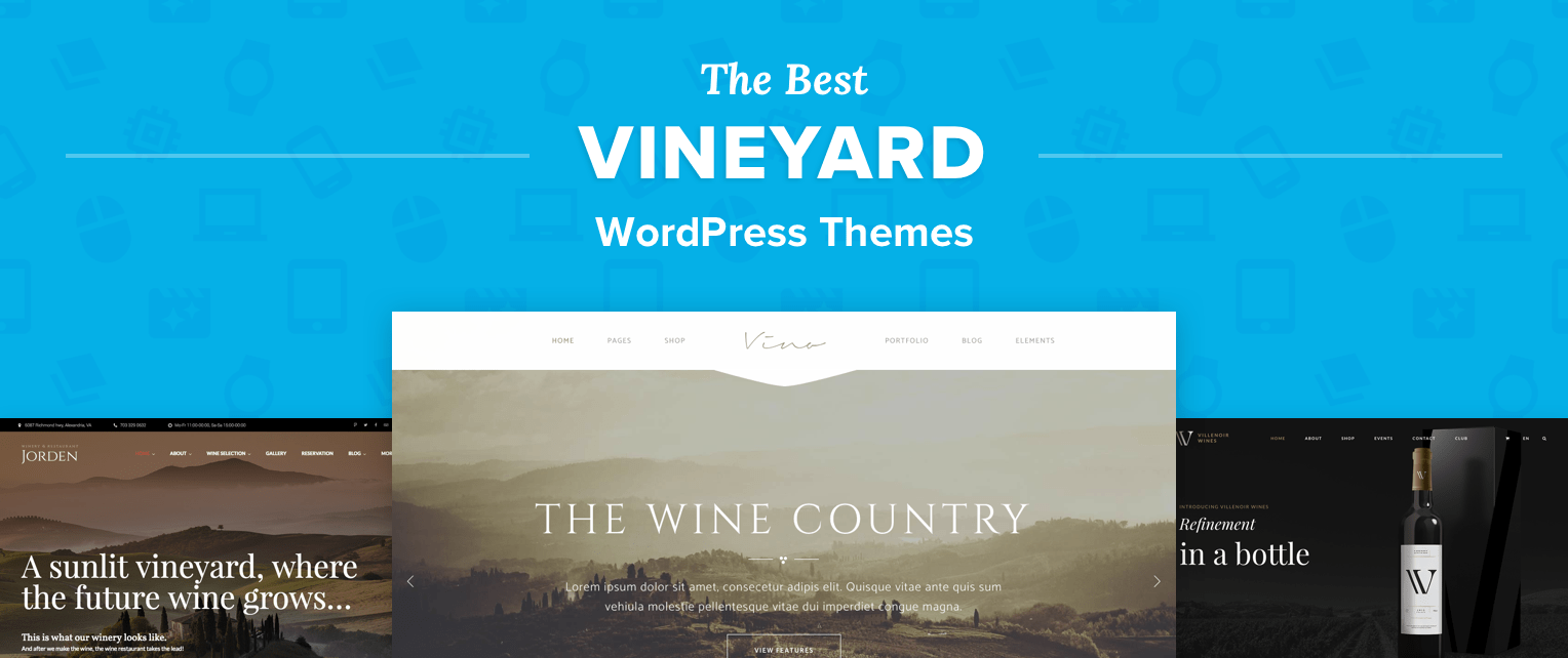 Vineyard Wordpress Themes