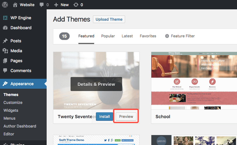 How to Preview a Theme Before Activating It [No Plugins]