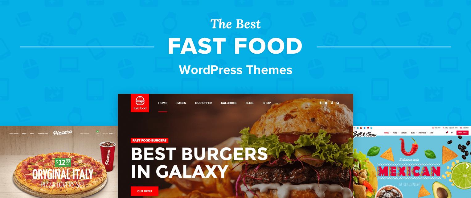 Fast Food Wordpress Themes