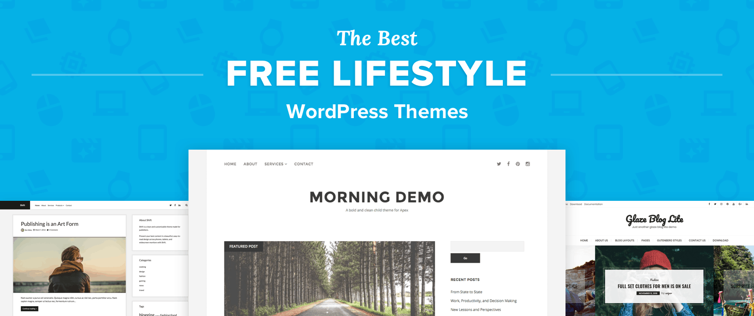 Free Lifestyle WordPress Themes