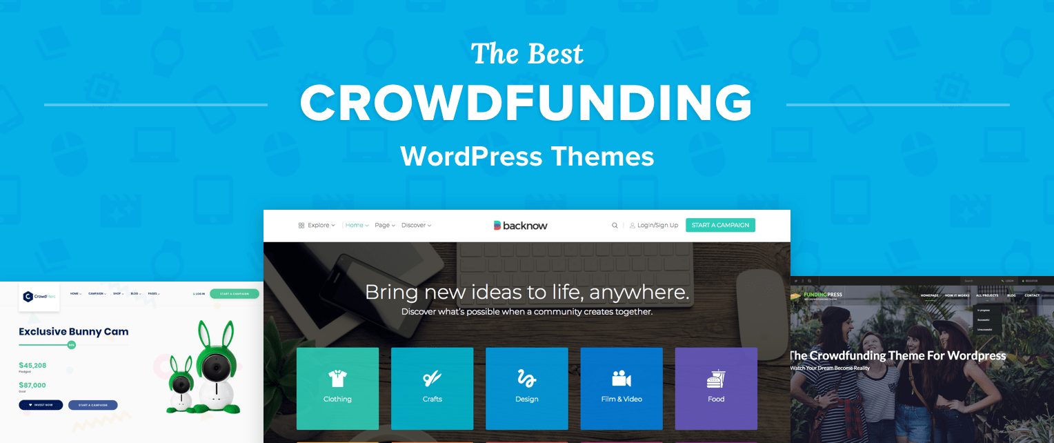 Best Crowdfunding WordPress Themes