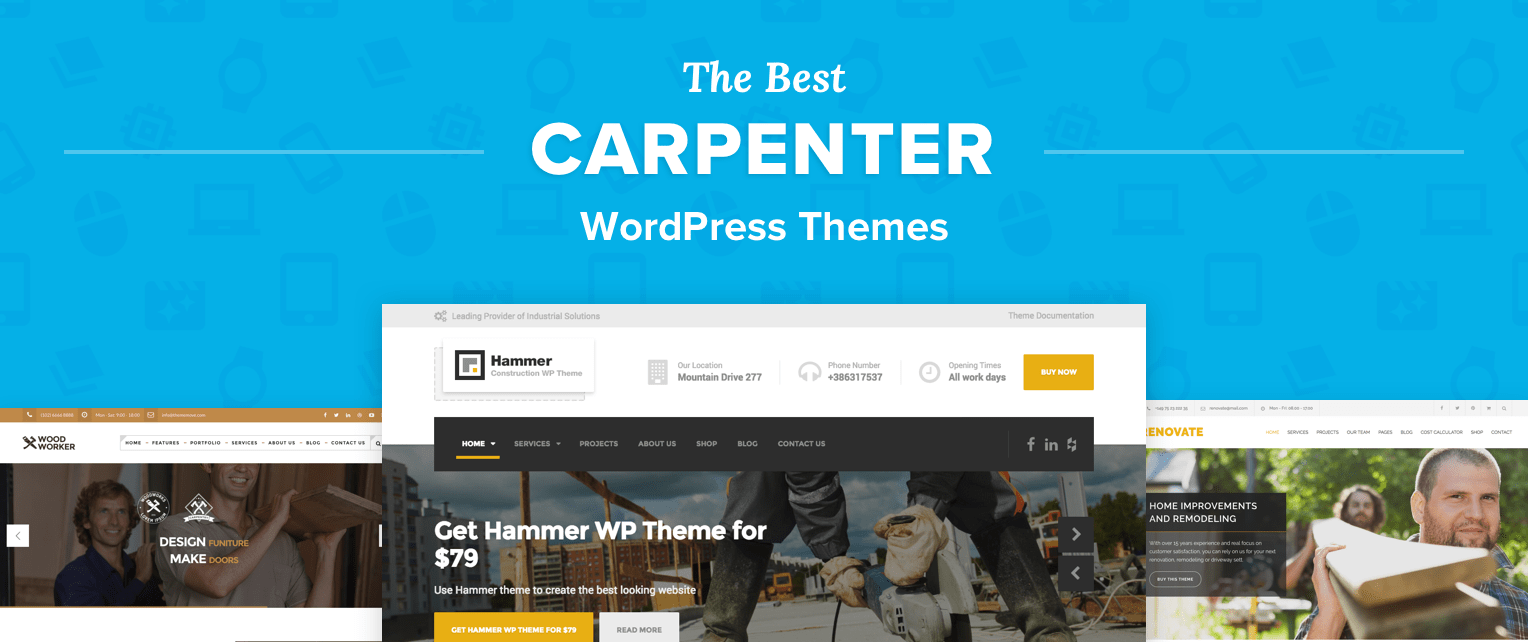 Carpenter WordPress Themes