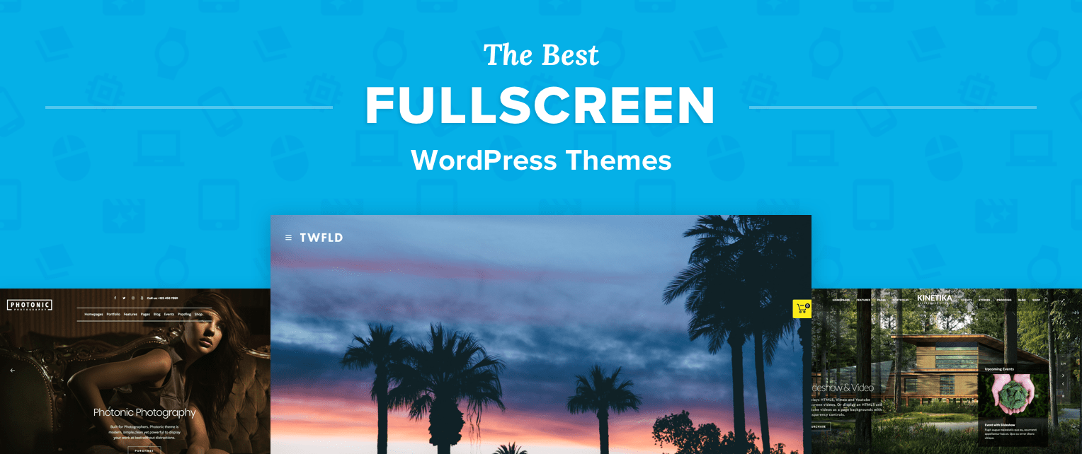 Fullscreen WordPress Themes