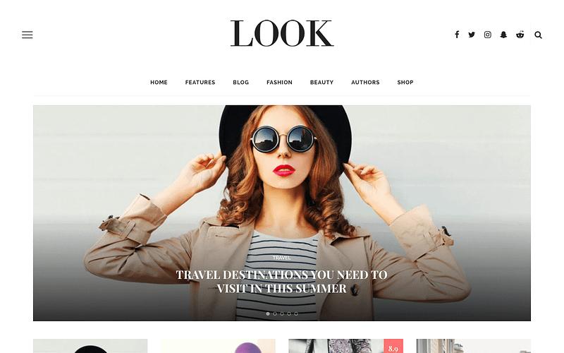Look magazine theme