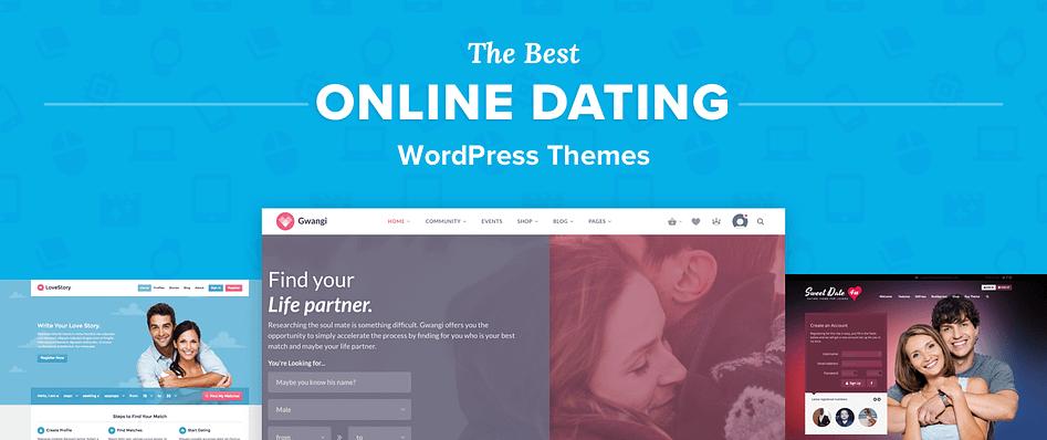 online dating wordpress teme
