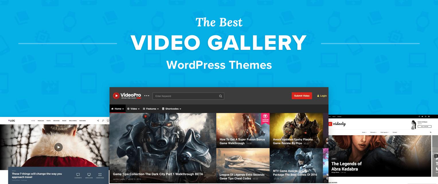 Video Gallery WordPress Themes