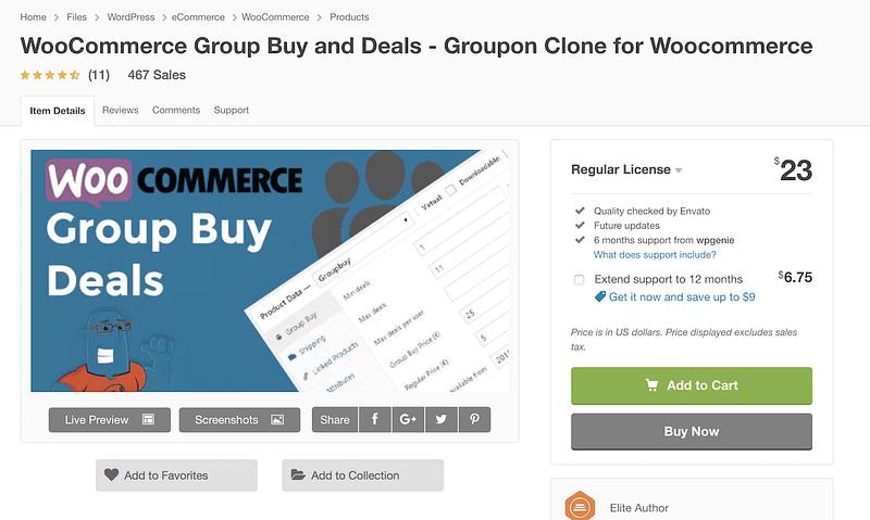 WooCommerce Group Buy Deals
