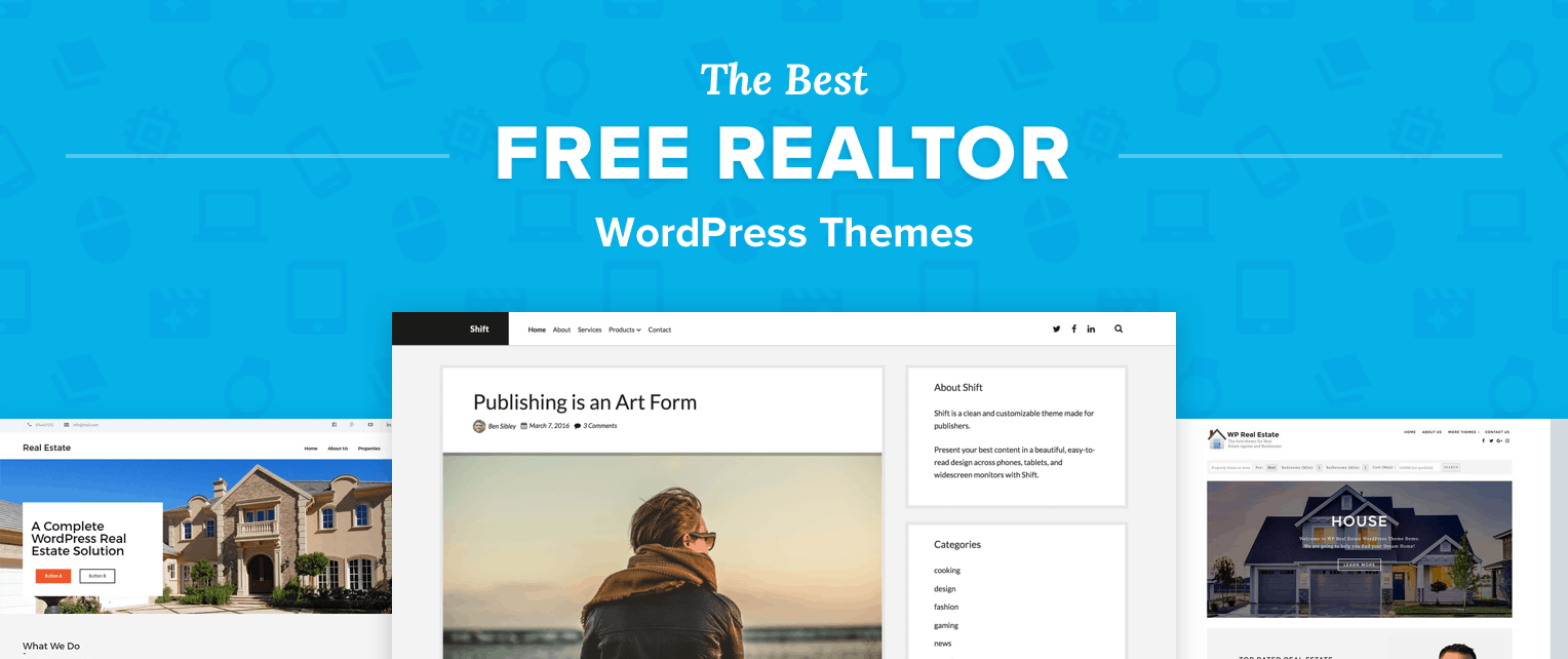 Free Realtor WordPress Themes