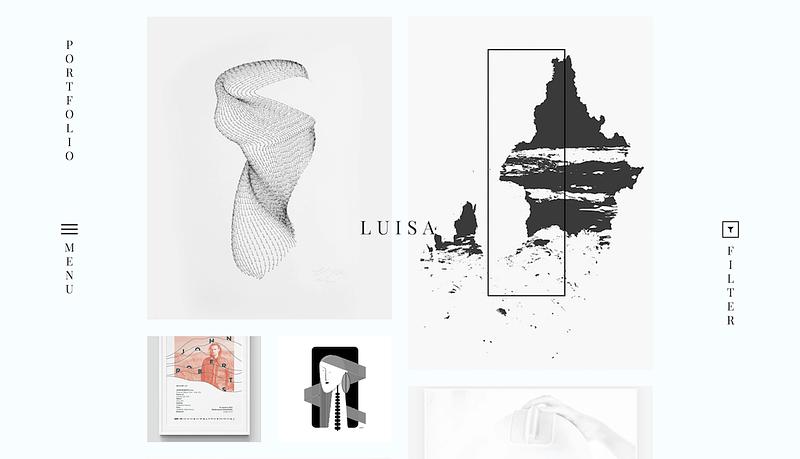 Luisa visual artist theme