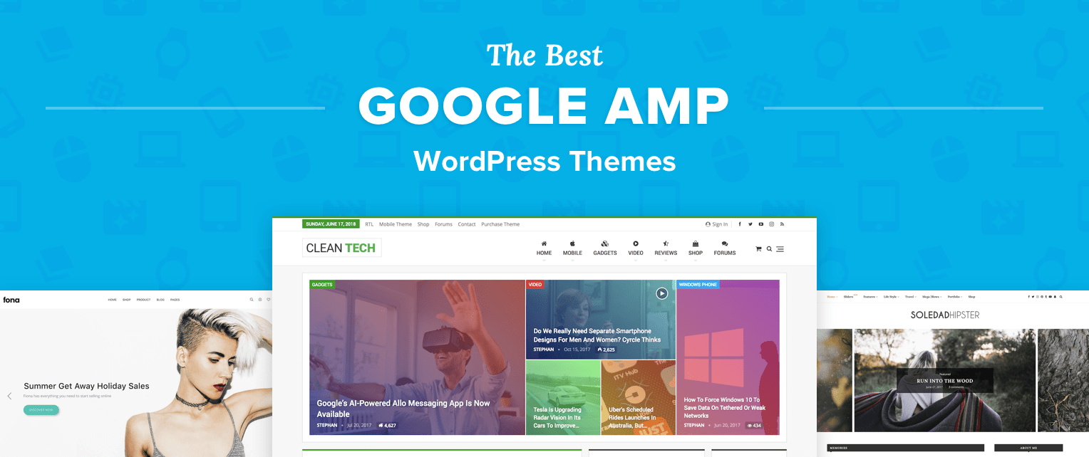 Amp Wordpress Themes