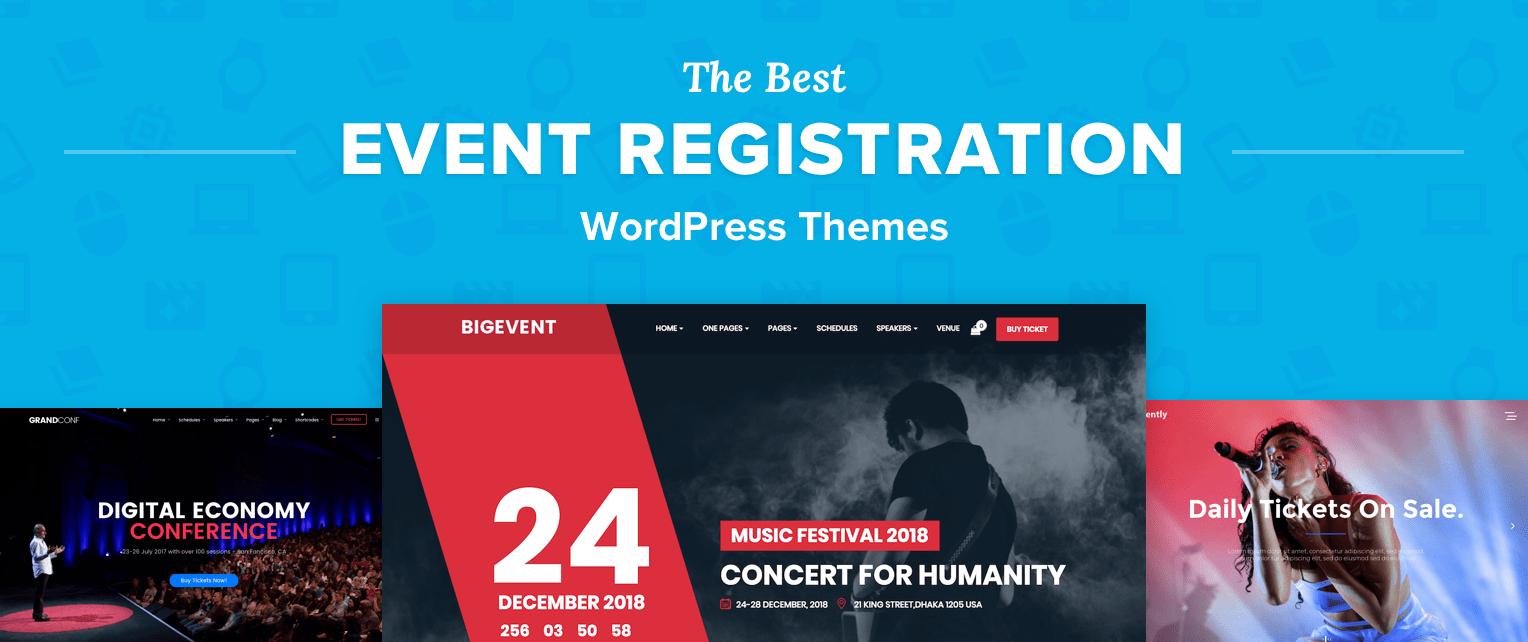 Event Registration WordPress Themes