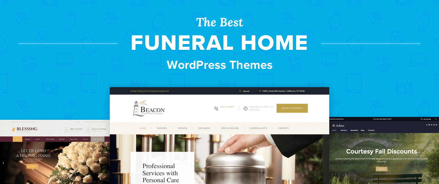 Funeral Home WordPress Themes