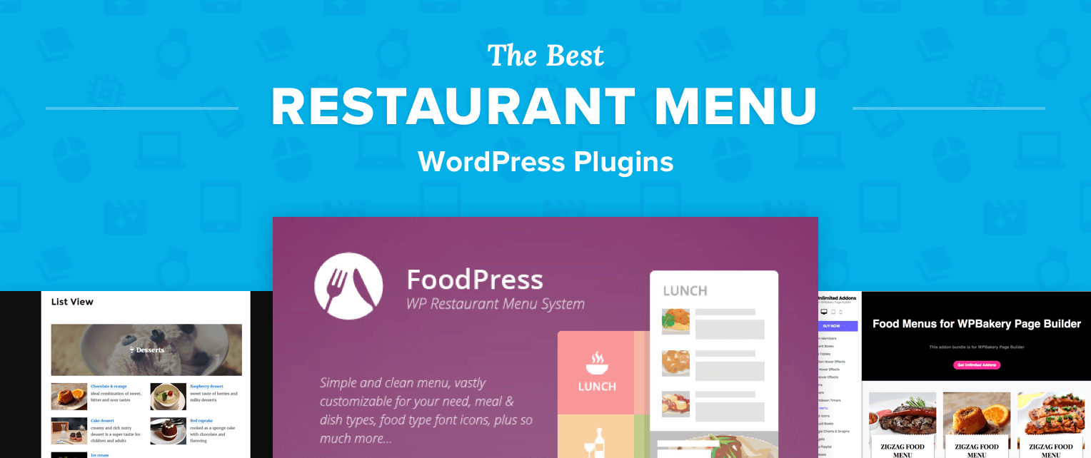 Restaurant Menu WordPress Plugins