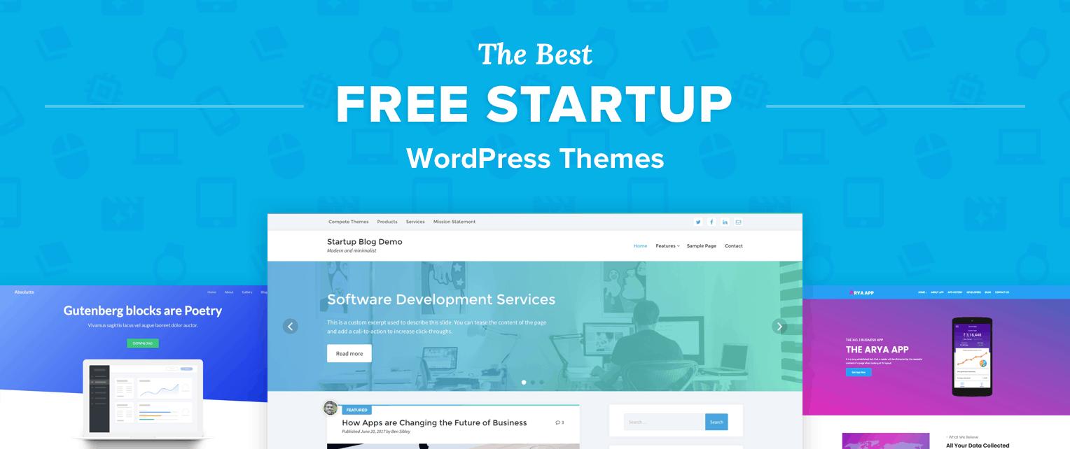 Free Startup WordPress Themes