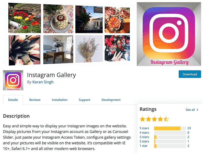 Instagram Gallery