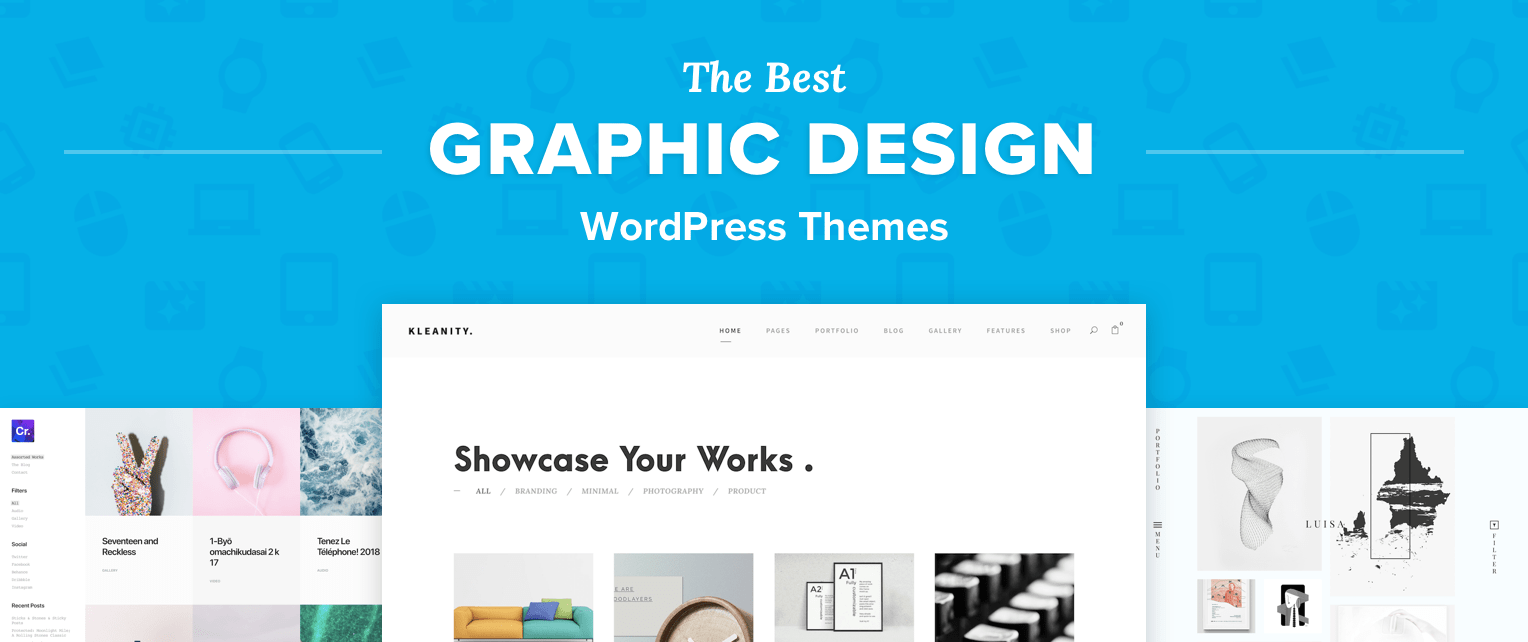 WordPress Themes for Graphic Designers