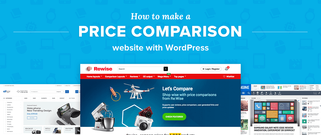 Price Comparison Website