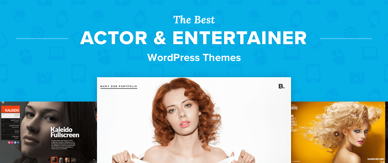 Wordpress Themes For Actors