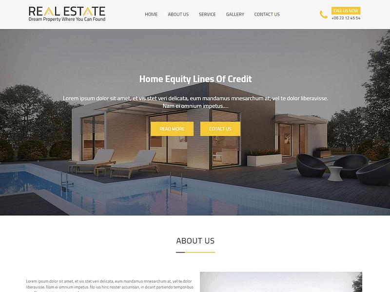 Real Estater theme for realtors