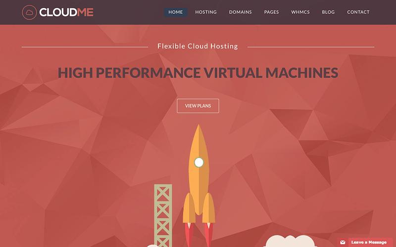 Cloudme hosting theme