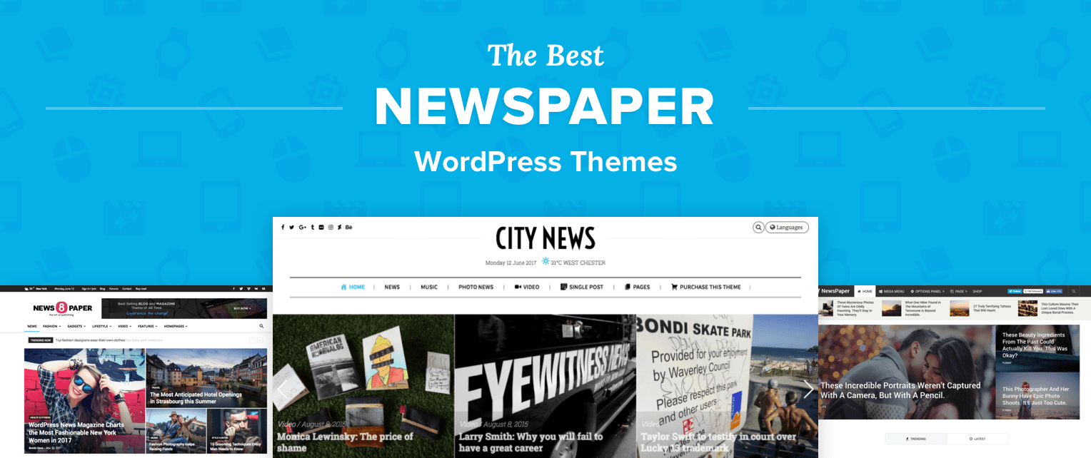 Newspaper WordPress Themes