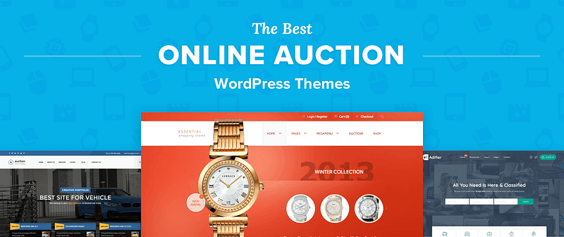 Auction WordPress Themes