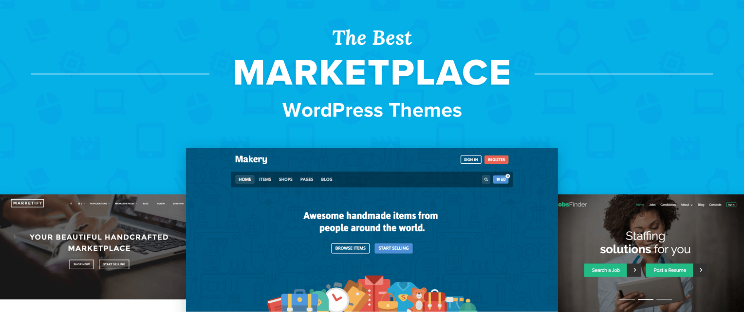 Marketplace Wordpress Themes