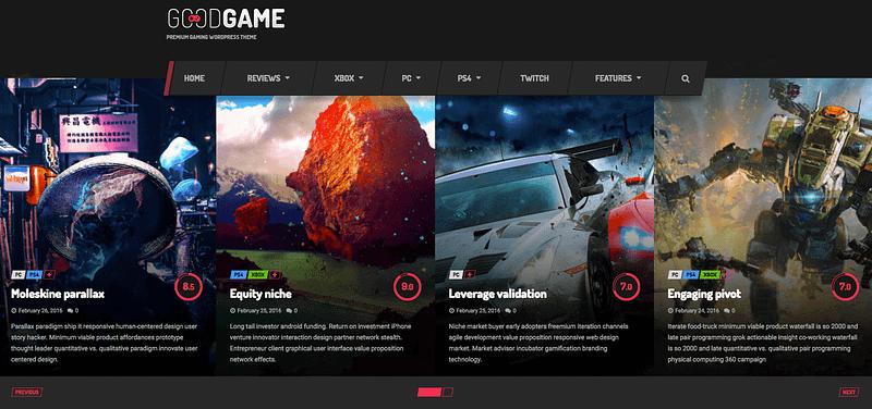 GoodGame theme