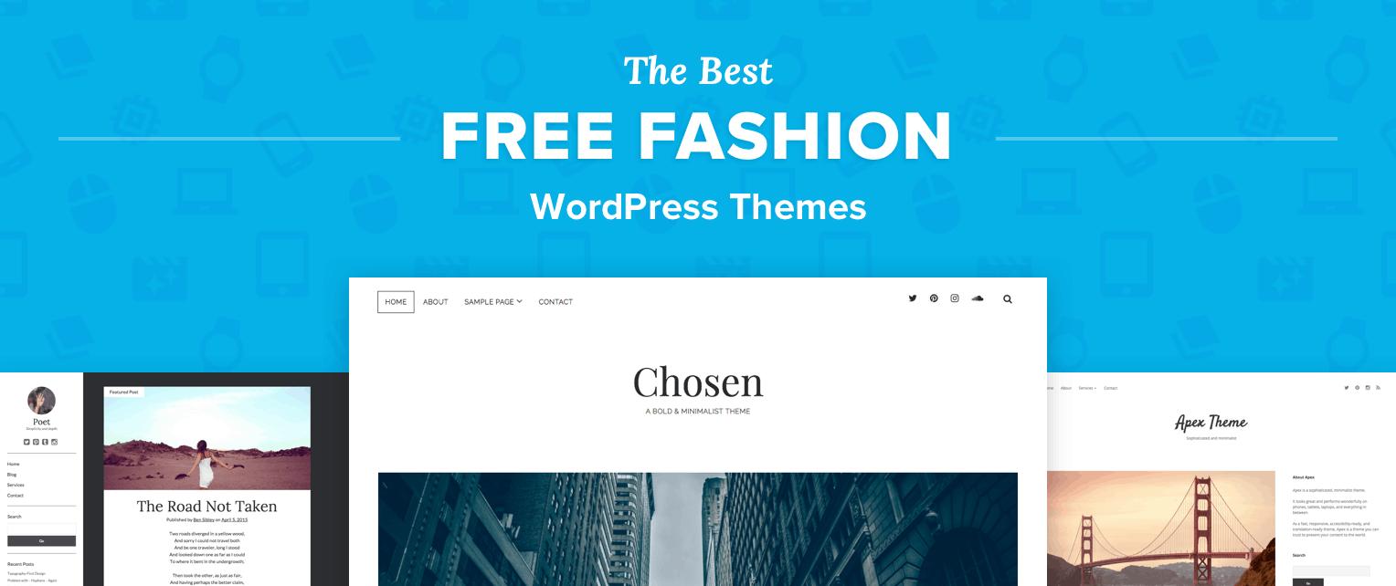Free Fashion WordPress Themes