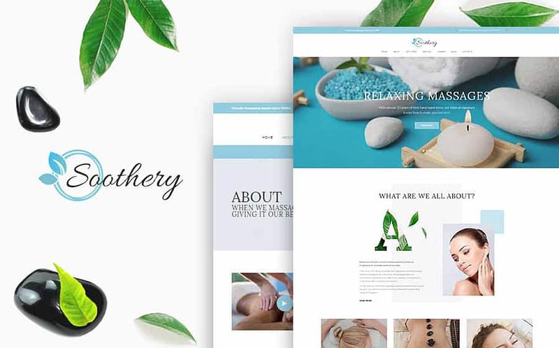 Soothery spa WordPress theme
