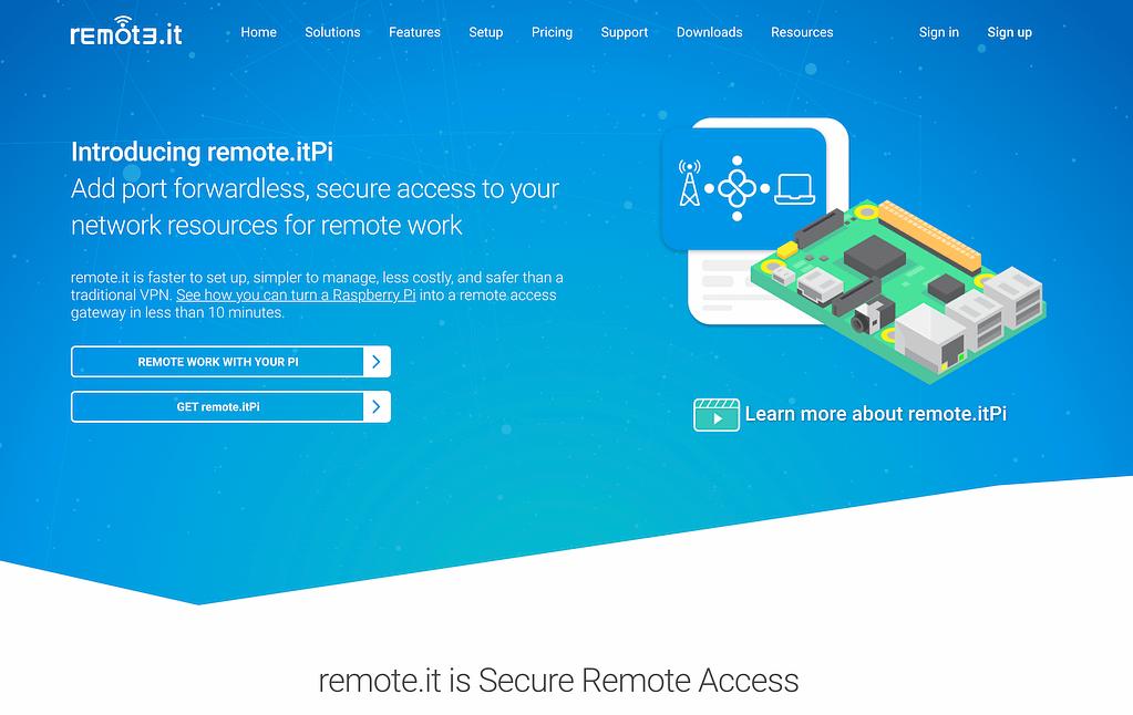 remote it