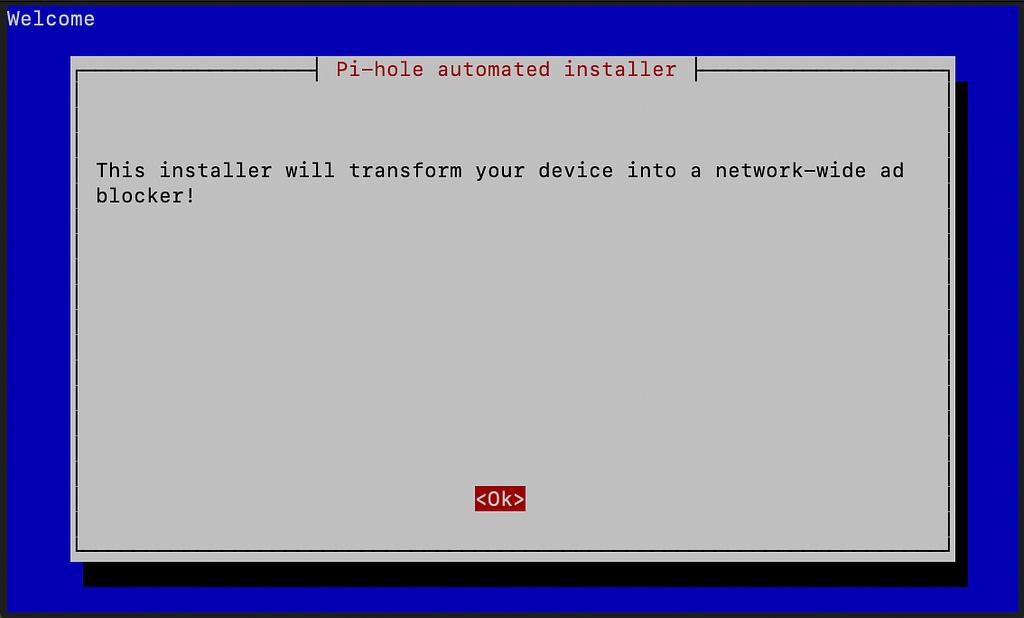Pi Hole installer