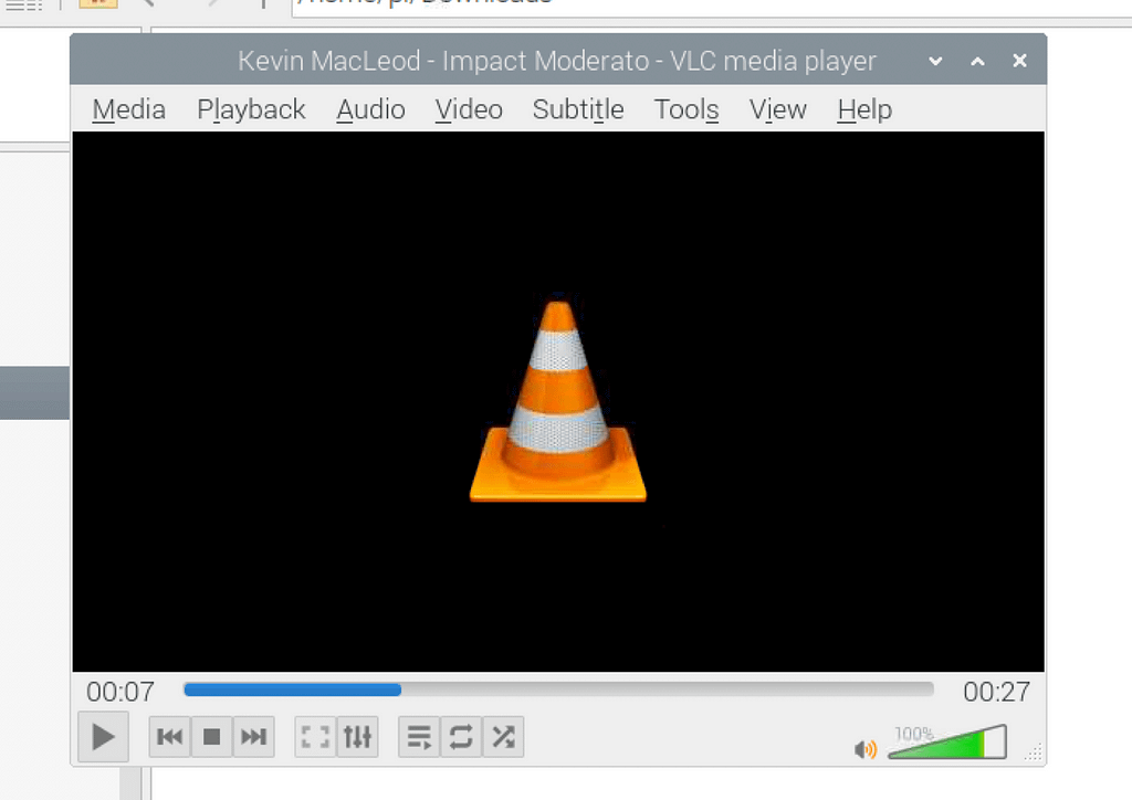 VLC audio player