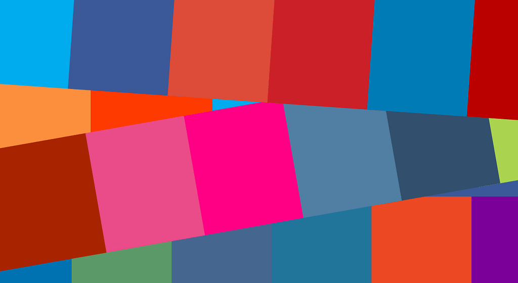 color montage from social sites