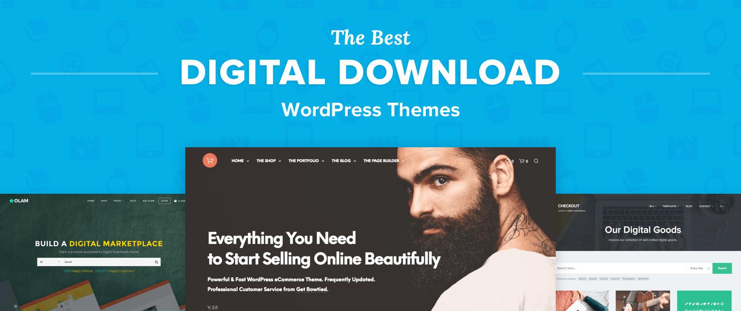 Digital Download Wordpress Themes