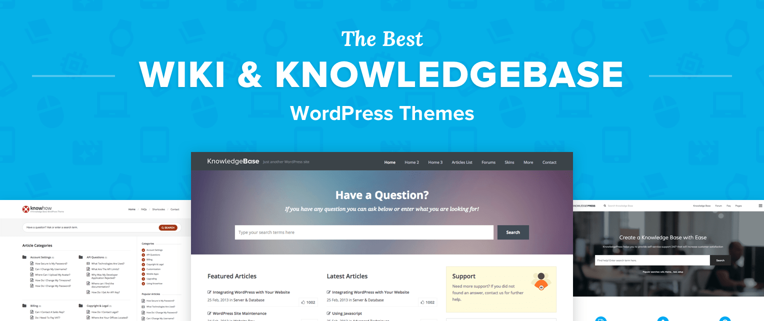 Wiki Wordpress Themes