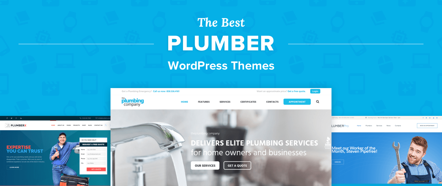 Plumber Wordpress Themes