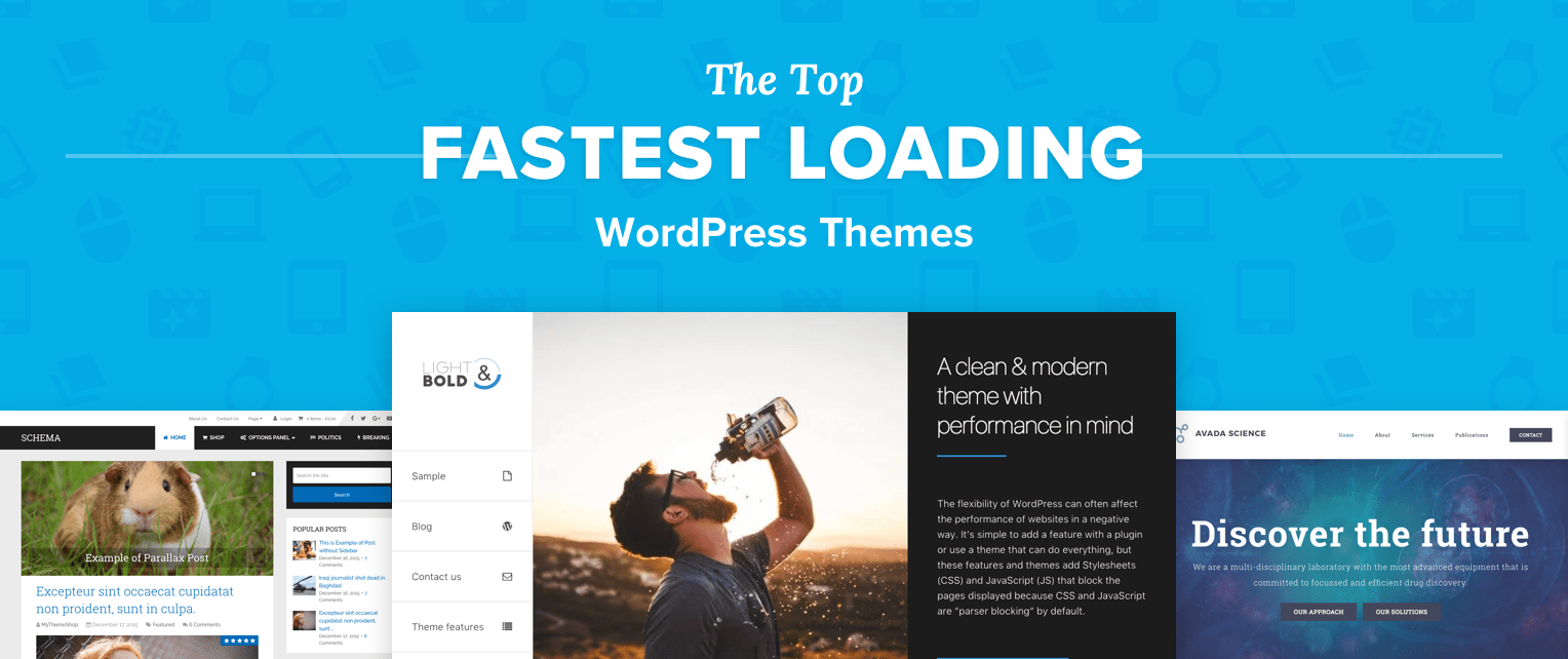 Fastest Wordpress Themes
