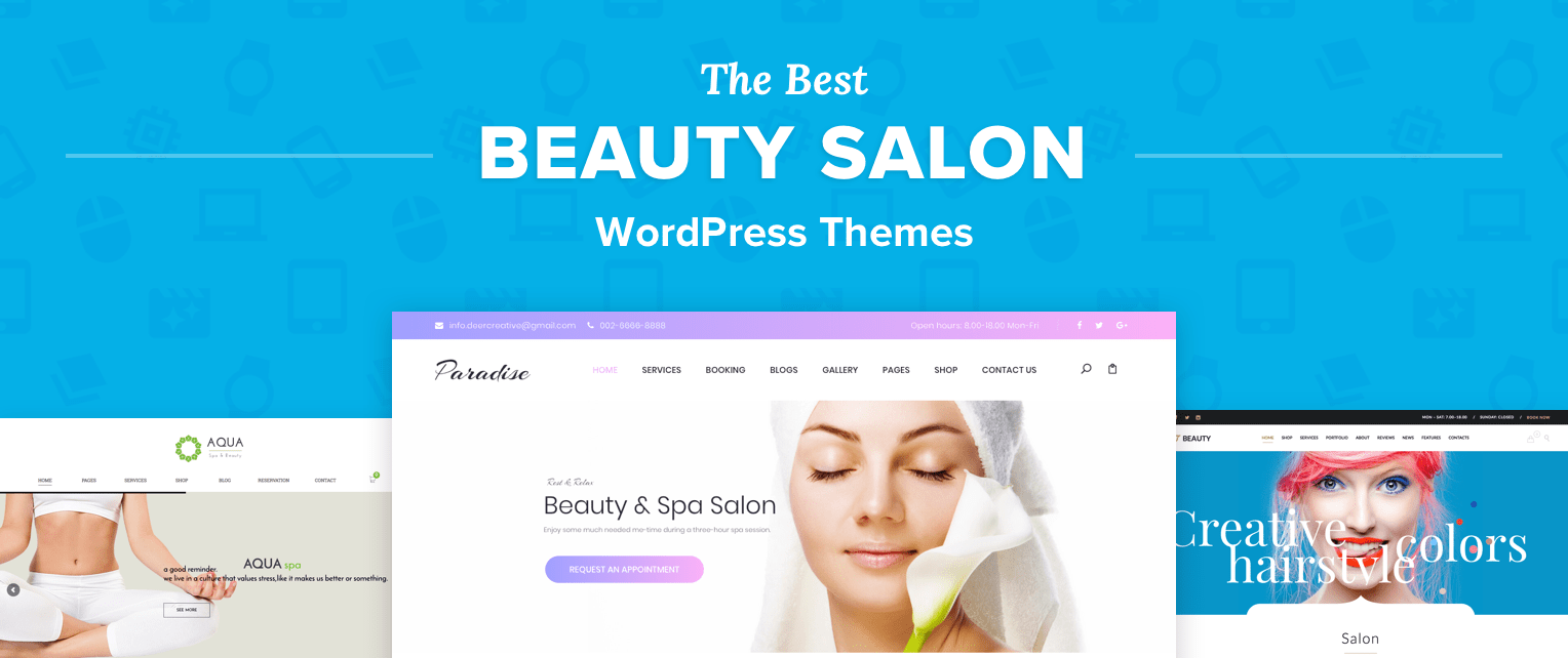 Beauty Salon WordPress Themes