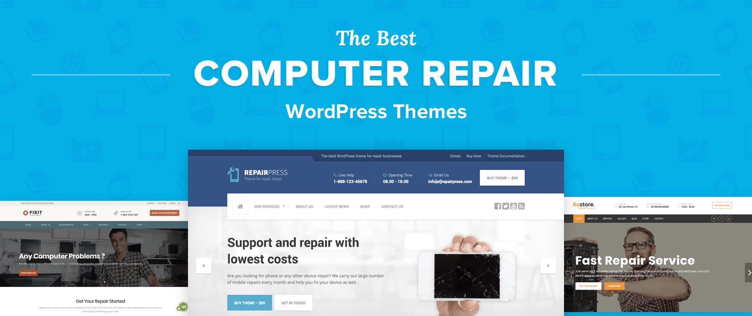 Computer Repair WordPress Themes