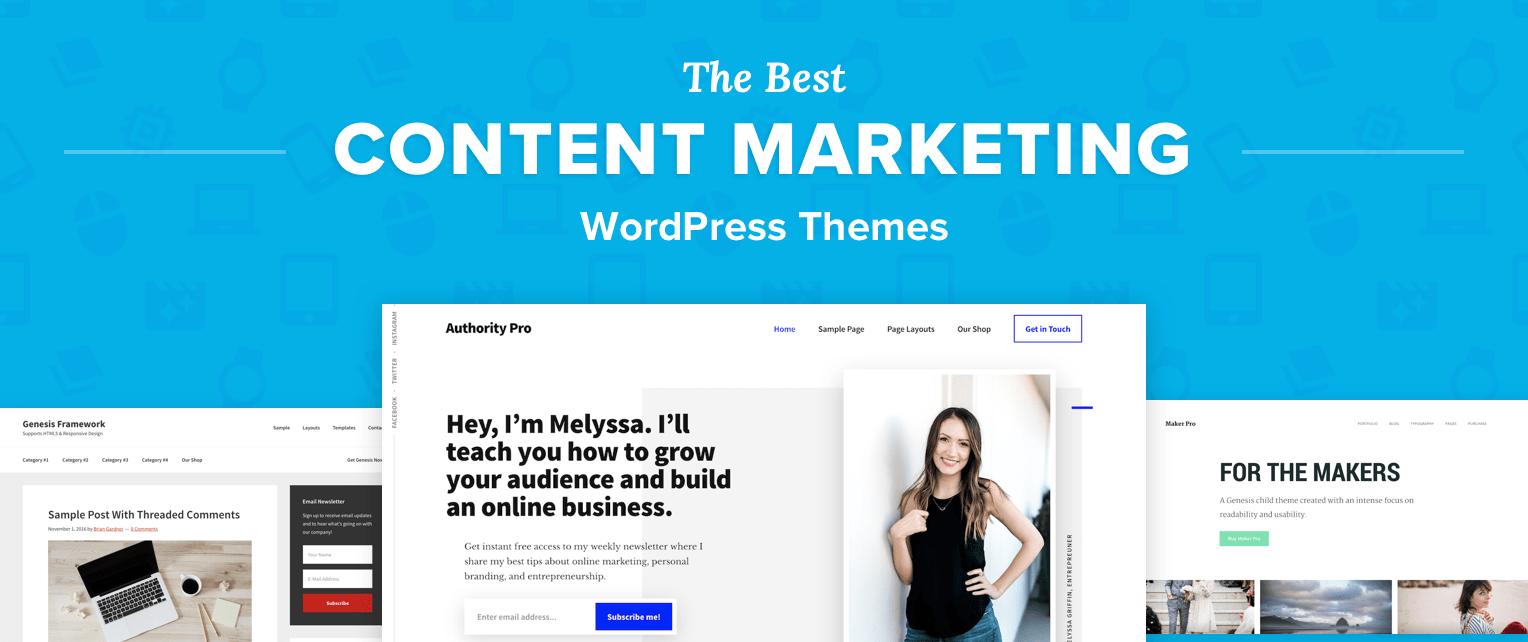 Content Marketing WordPress Themes